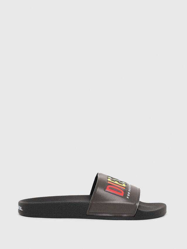 Diesel - SA-VALLA, Black - Slippers - Image 1