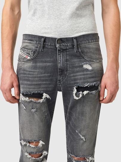 Diesel - D-Strukt 09B19, Black/Dark grey - Jeans - Image 3