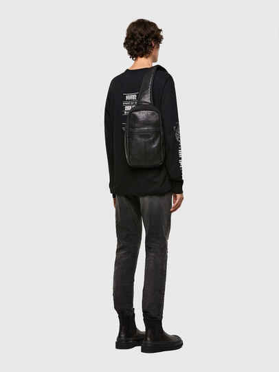 Diesel - F-SUSE MONO MR, Black - Crossbody Bags - Image 6