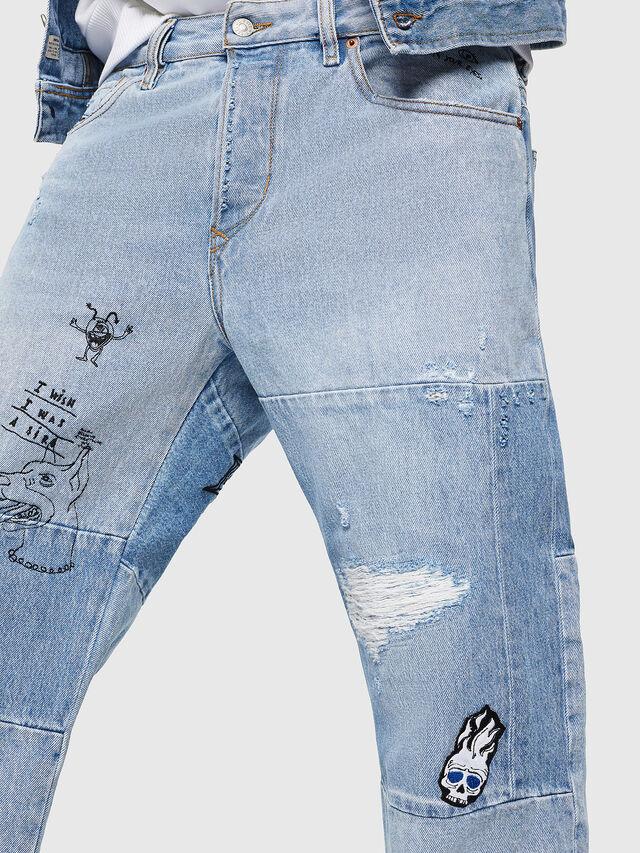 Diesel - D-Kodeck 0078F, Light Blue - Jeans - Image 3