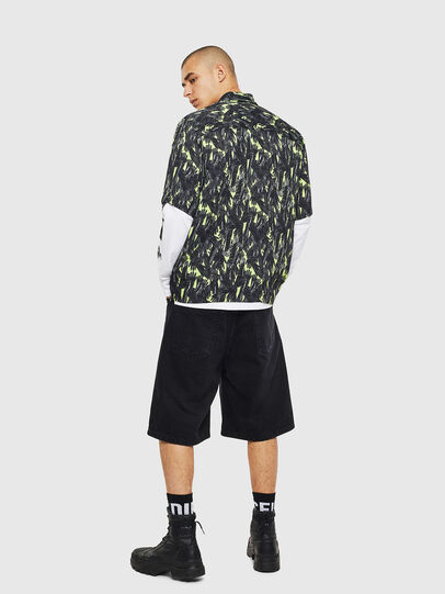 Diesel - S-ATWOOD-GLOVY, Green - Shirts - Image 5