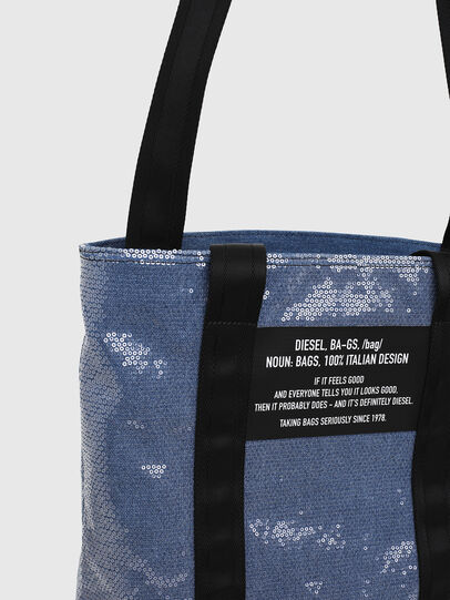 Diesel - F-THISBAG SHOWAY, Blue/Black - Shopping and Shoulder Bags - Image 6