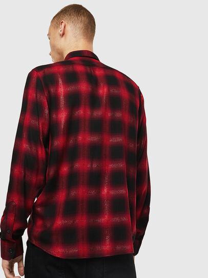Diesel - S-MARLENE-C, Red/Black - Shirts - Image 2