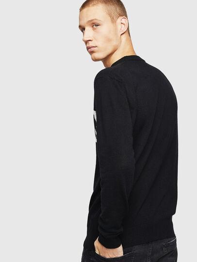 Diesel - K-JOY, Black - Knitwear - Image 3