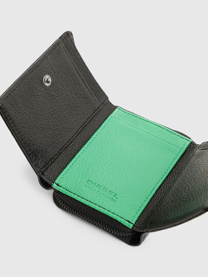 Diesel - SPEJAP, Black/Green - Small Wallets - Image 6