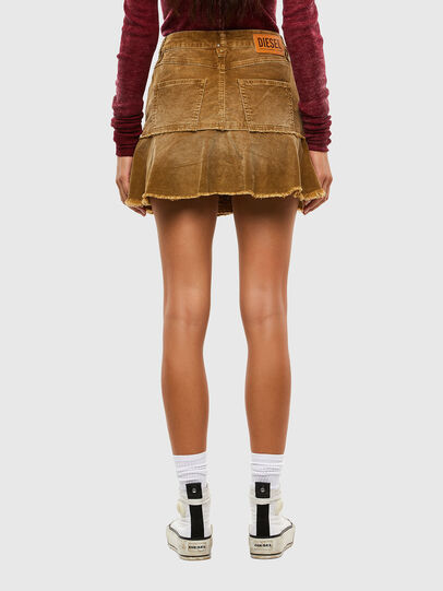 Diesel - O-BETH-C, Light Brown - Skirts - Image 2