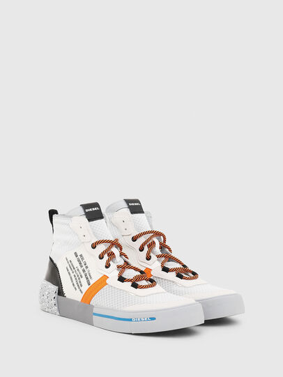 Diesel - S-DESE MID RC, Multicolor/White - Sneakers - Image 2