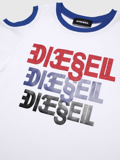 Diesel - TANIURAB-R, White - T-shirts and Tops - Image 3