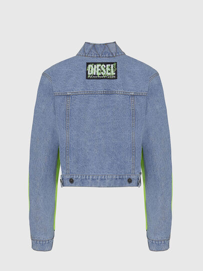 Diesel - G-DANIEL, Blue/Green - Jackets - Image 2
