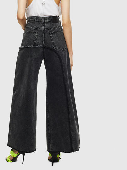 Diesel - D-Izzier 0KAXA, Black/Dark grey - Jeans - Image 2