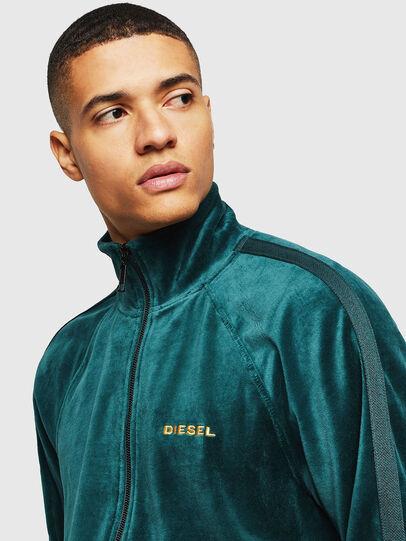 Diesel - UMLT-MAX-CZ, Dark Green - Sweaters - Image 3