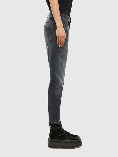 Diesel - FAYZA JoggJeans® 069QA, Black/Dark grey - Jeans - Image 3