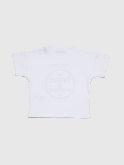 Diesel - TARTIB, White - T-shirts and Tops - Image 2