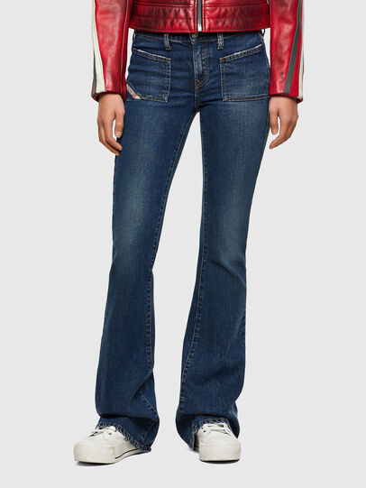Diesel - D-Ebbey 009NV, Dark Blue - Jeans - Image 1