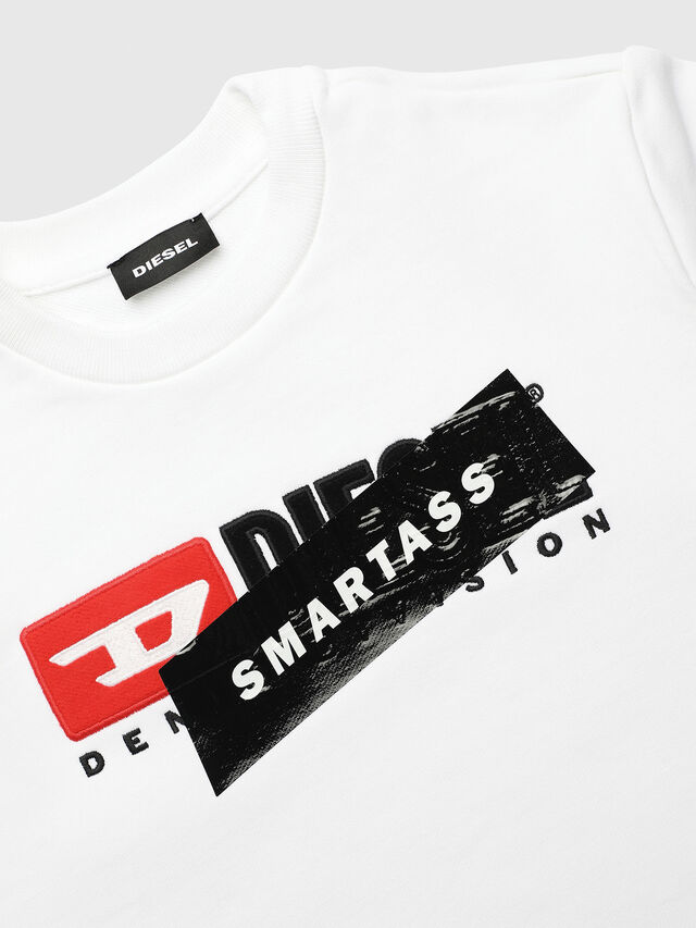 Diesel - UN-K-SCREWDIVISION-B, White - Sweaters - Image 3