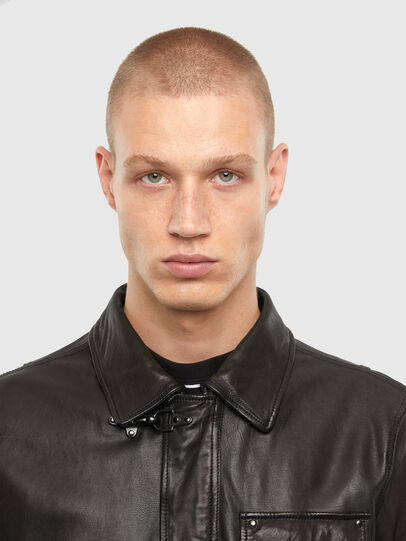 Diesel - L-LUC,  - Leather jackets - Image 3