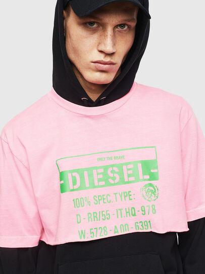 Diesel - T-CROPPY, Pink - T-Shirts - Image 7
