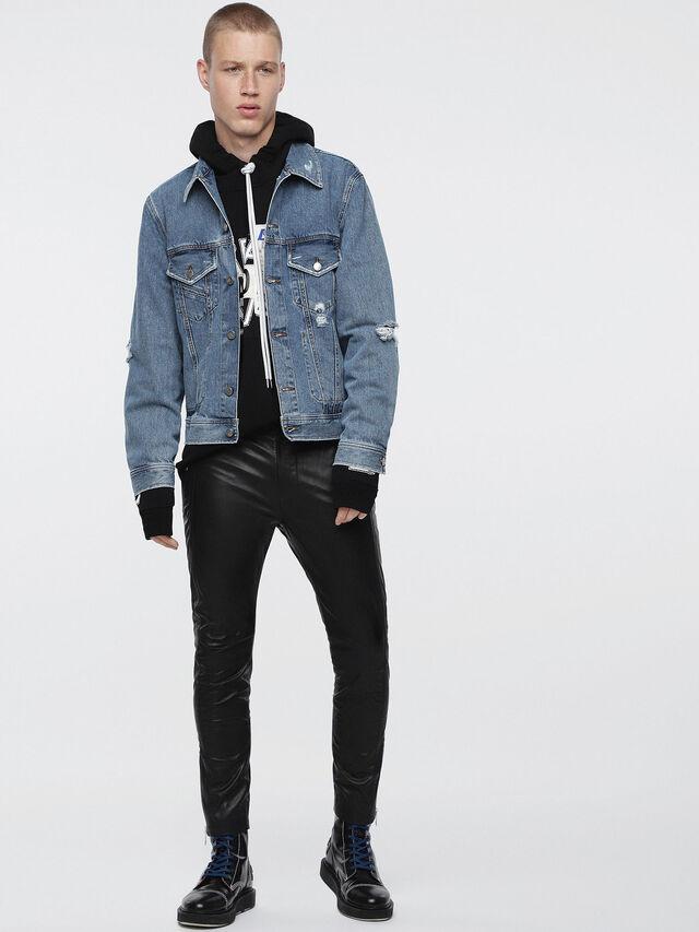 Diesel - D-ROBYN, Blue Jeans - Denim Jackets - Image 4