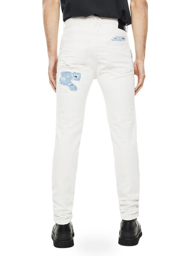 Diesel - TYPE-2880, White/Blue - Jeans - Image 2