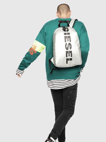 Diesel - F-BOLD BACK, Silver/Black - Backpacks - Image 5