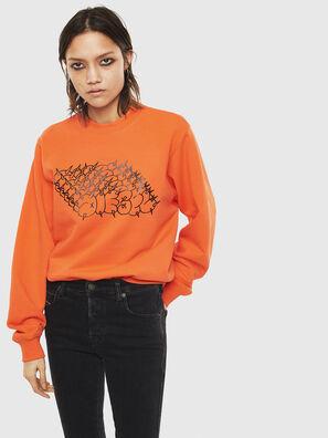 F-ANG-S2, Orange - Sweaters
