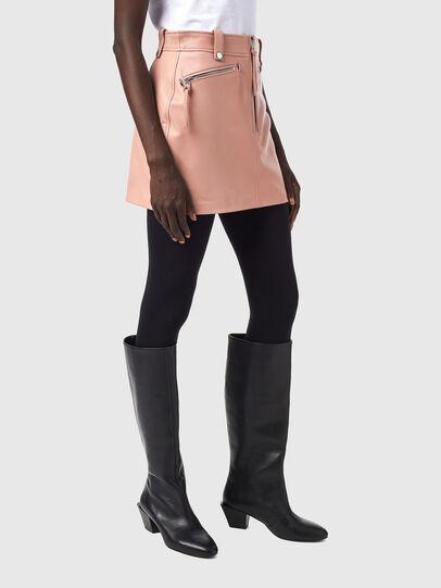 Diesel - L-EMILIA-A, Pink - Skirts - Image 4