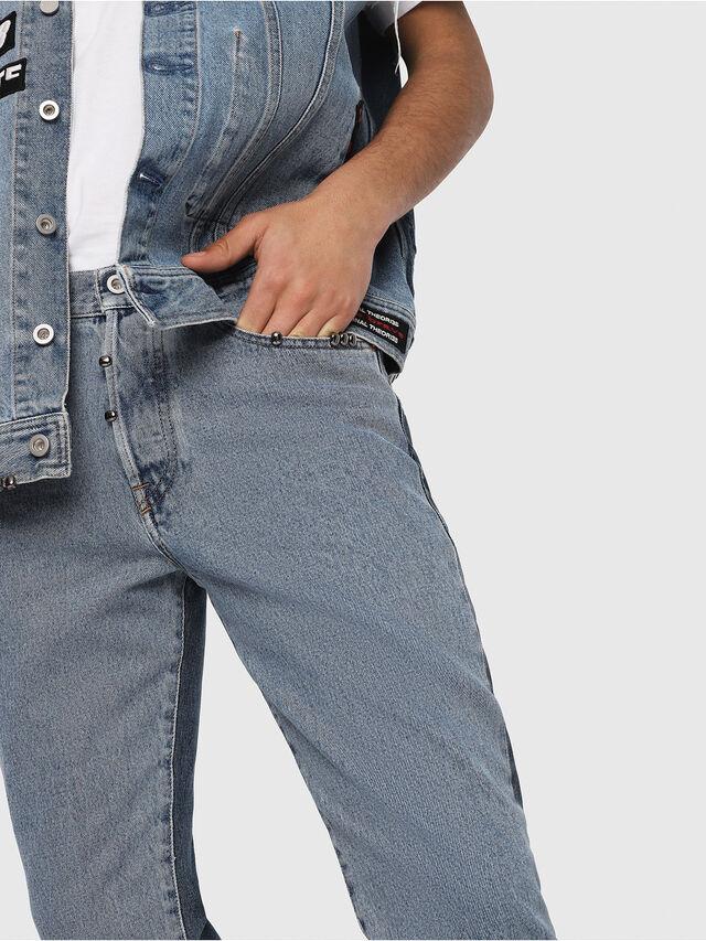Diesel - Mharky 0077Z, Medium blue - Jeans - Image 4