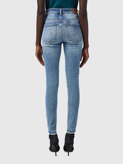 Diesel - Slandy High 09B09, Light Blue - Jeans - Image 2