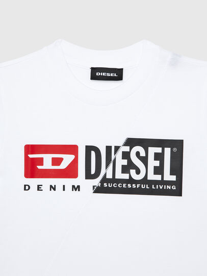 Diesel - TDIEGOCUTYB-R, White - T-shirts and Tops - Image 3