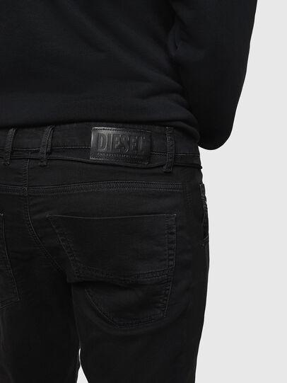Diesel - Krooley JoggJeans 069JH, Black/Dark grey - Jeans - Image 4