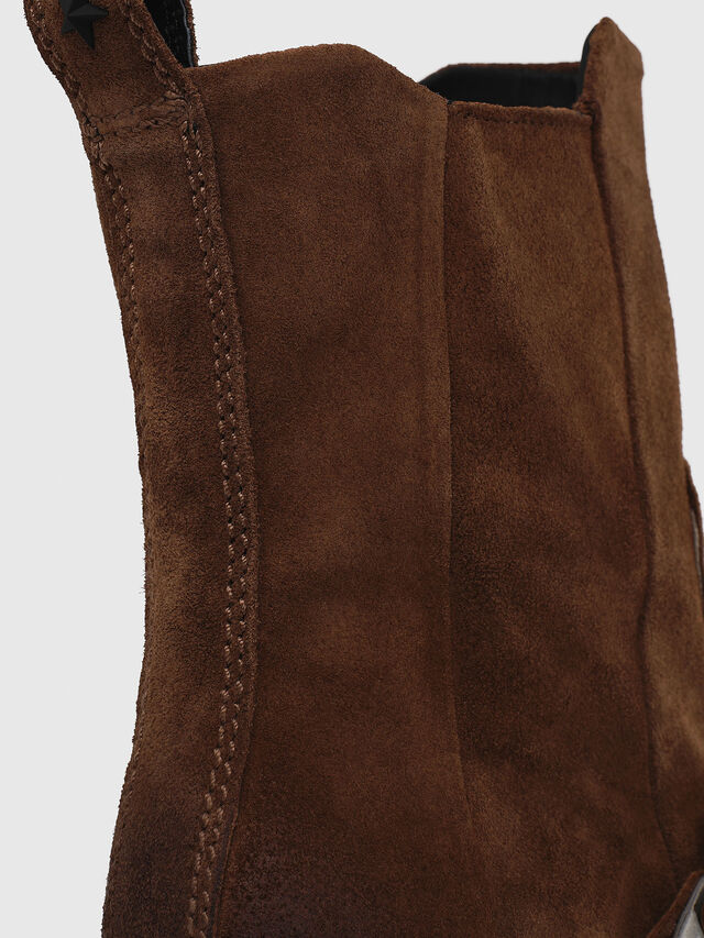 Diesel - D-GIUDECCA MA, Brown - Ankle Boots - Image 4