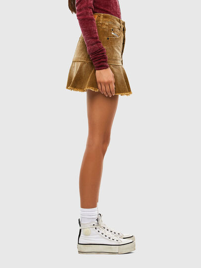 Diesel - O-BETH-C, Light Brown - Skirts - Image 3
