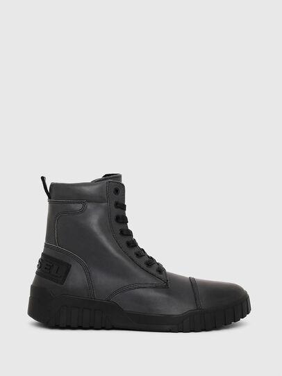 Diesel - H-RUA AM, Dark Blue - Sneakers - Image 1