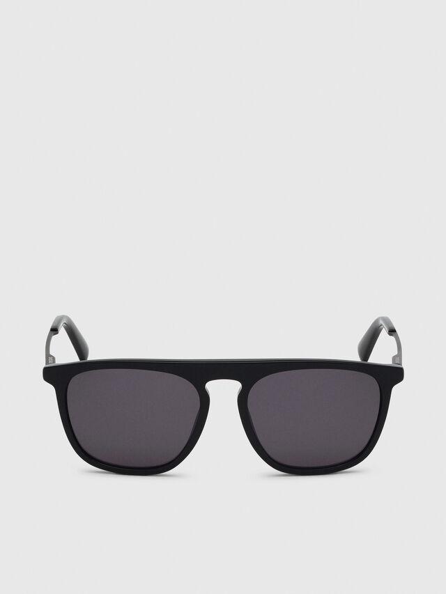 Diesel - DL0297, Black/Yellow - Sunglasses - Image 1
