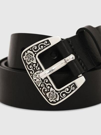 Diesel - B-MEXY, Black - Belts - Image 2