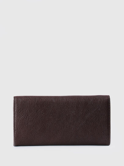 Diesel - 24 A DAY, Brown - Continental Wallets - Image 2