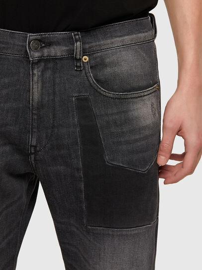 Diesel - D-Strukt 009MZ, Black/Dark grey - Jeans - Image 4