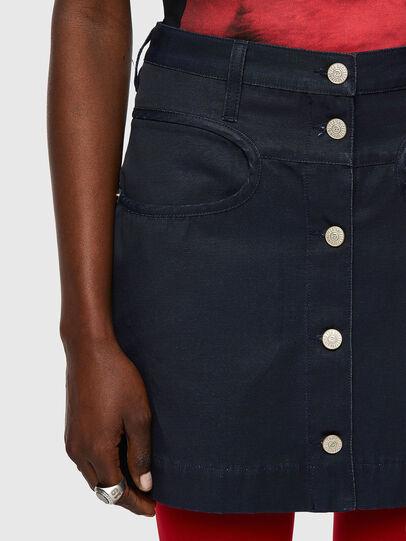Diesel - O-LORENA, Blue - Skirts - Image 3