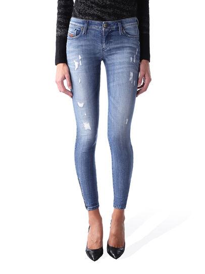 Diesel - Skinzee Low Zip 0847U,  - Jeans - Image 1
