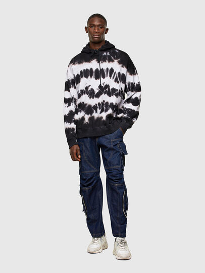Diesel - S-UMMER-A83, Black/White - Sweaters - Image 5