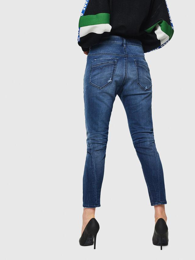 Diesel - Fayza JoggJeans 069HB, Medium blue - Jeans - Image 2