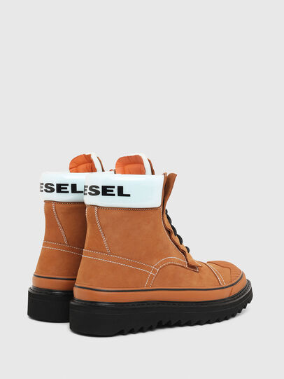 Diesel - H-SHIROKI DBBT, Light Brown - Boots - Image 3