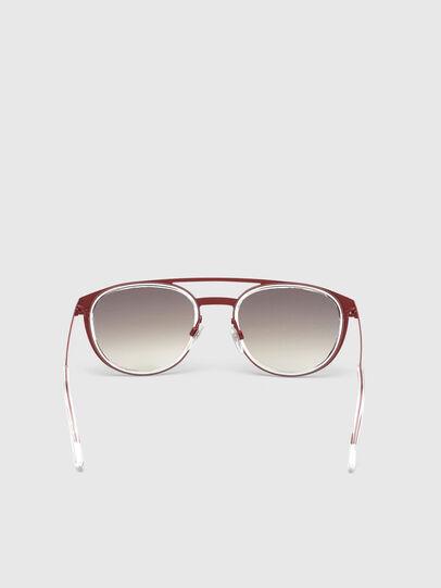 Diesel - DL0293, Red/White - Sunglasses - Image 4