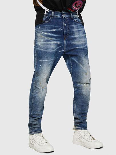 Diesel - D-Vider JoggJeans 0870Q, Medium blue - Jeans - Image 1