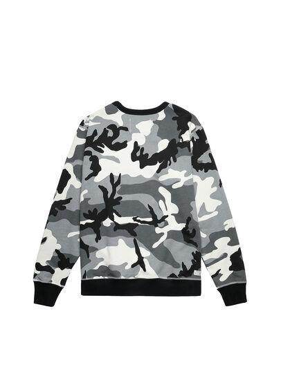 Diesel - UMLT-WILLY, Grey/Black - Sweaters - Image 2