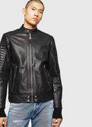 L-SHIRO, Black Leather - Leather jackets