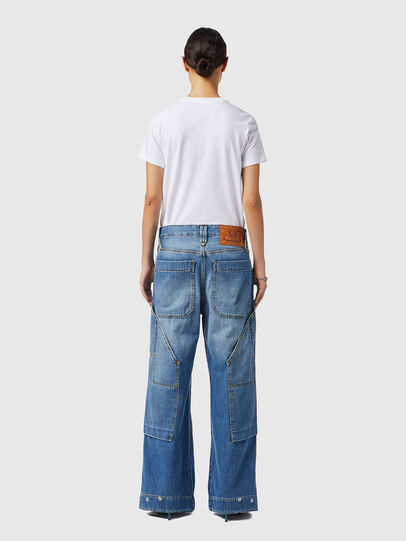Diesel - D-Laly 0AFAM, Medium blue - Jeans - Image 6