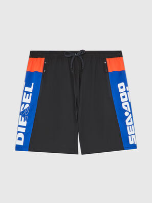 BMBX-TUNADOO, Black/Blue - Swim shorts