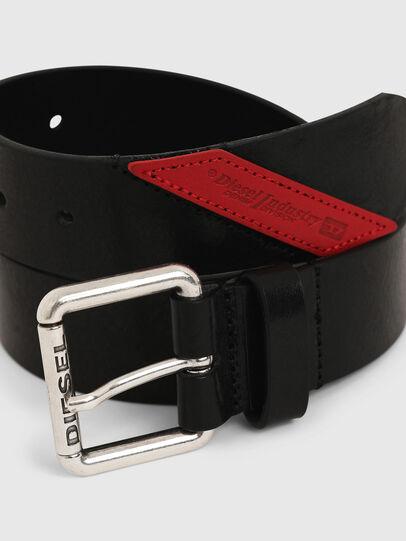 Diesel - B-LINE FLUO, Black - Belts - Image 2