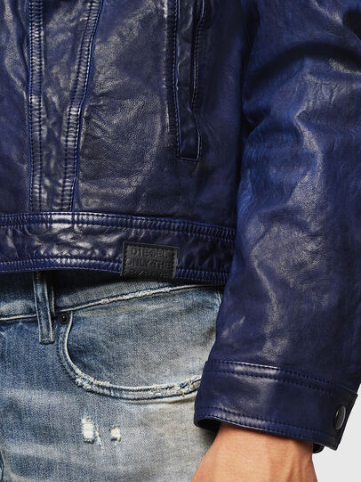 Diesel - L-NHILL,  - Leather jackets - Image 5